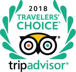TripAdvisor 2018 Travelers' Choice