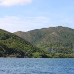 Photo of traveling to the island over water